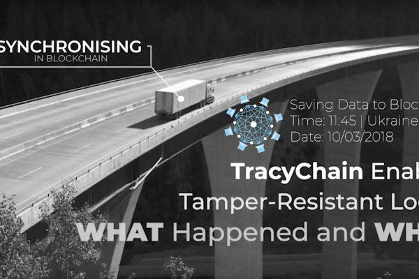 Logistics asset tracking system on blockchain
