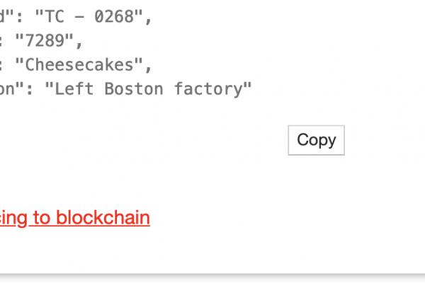 api blockchain sync widget