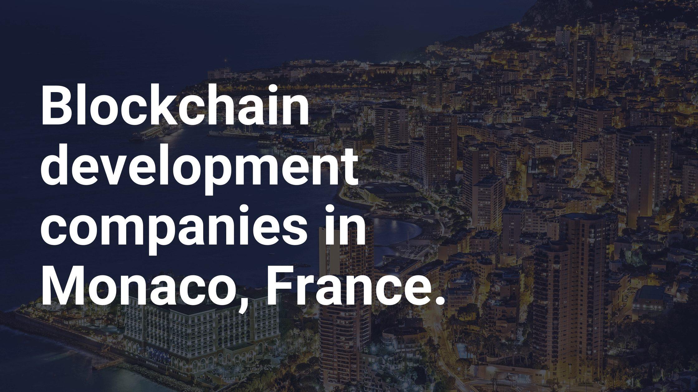 blockchain development companies in france